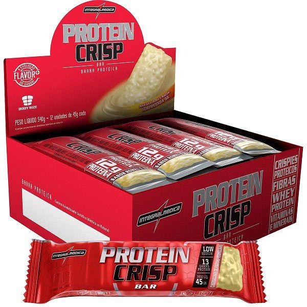 Protein Crisp Bar 45g 12 Unidades - Integralmedica