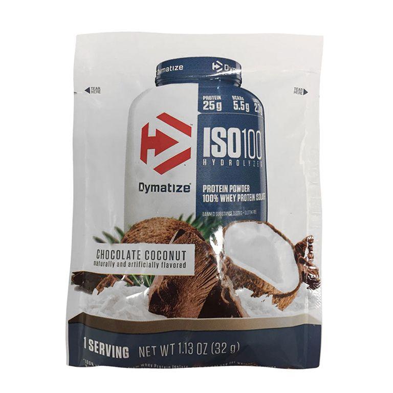 Sachê ISO 100 32g Chocolate  Dymatize Nutrition