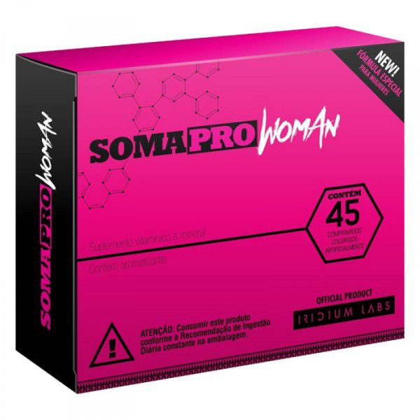 Soma Pro Woman 45 Caps - Iridium Labs