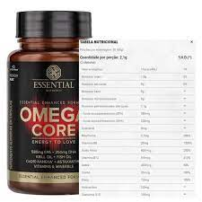 Ômega-3 core 60 caps Essential nutrition