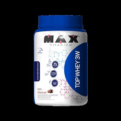 Top whey 3w mais performance - 900G -max titanium