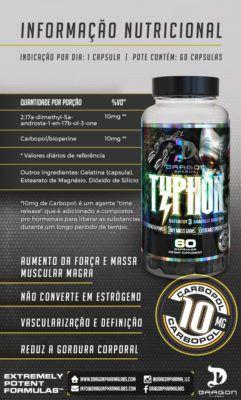 Typhon 60 Caps - Dragon Pharma