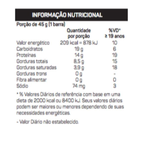 Uau Protein Bar  (Cx c/12 unidades de 45g) - Max Titanium