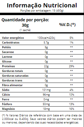 Vanilla whey sachê 30g Essential nutrition