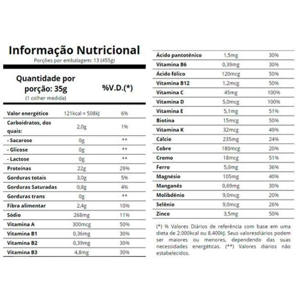 Veggie protein 455 g Essential nutrition