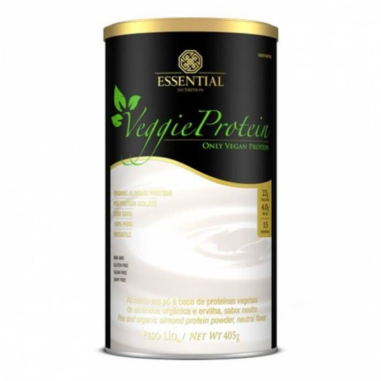 Veggie Protein neutro  405g -Essential nutrition