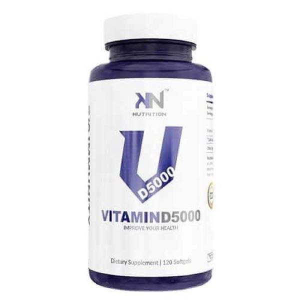 Vitamina D 5.000ui 120 Caps - KN Nutrition