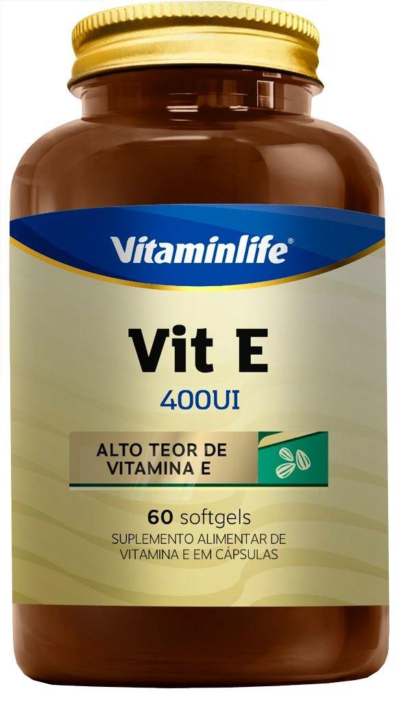 Vitamina E 400UI 60 capsulas Vitaminlife