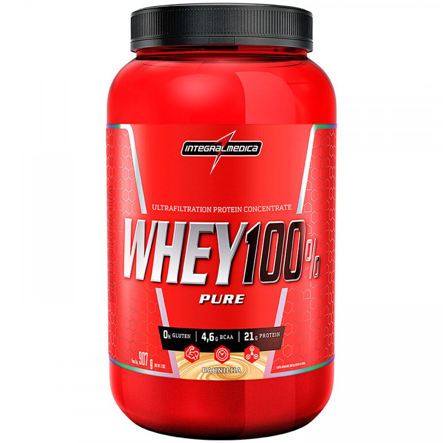 Whey 100% Pure - Pote 907g