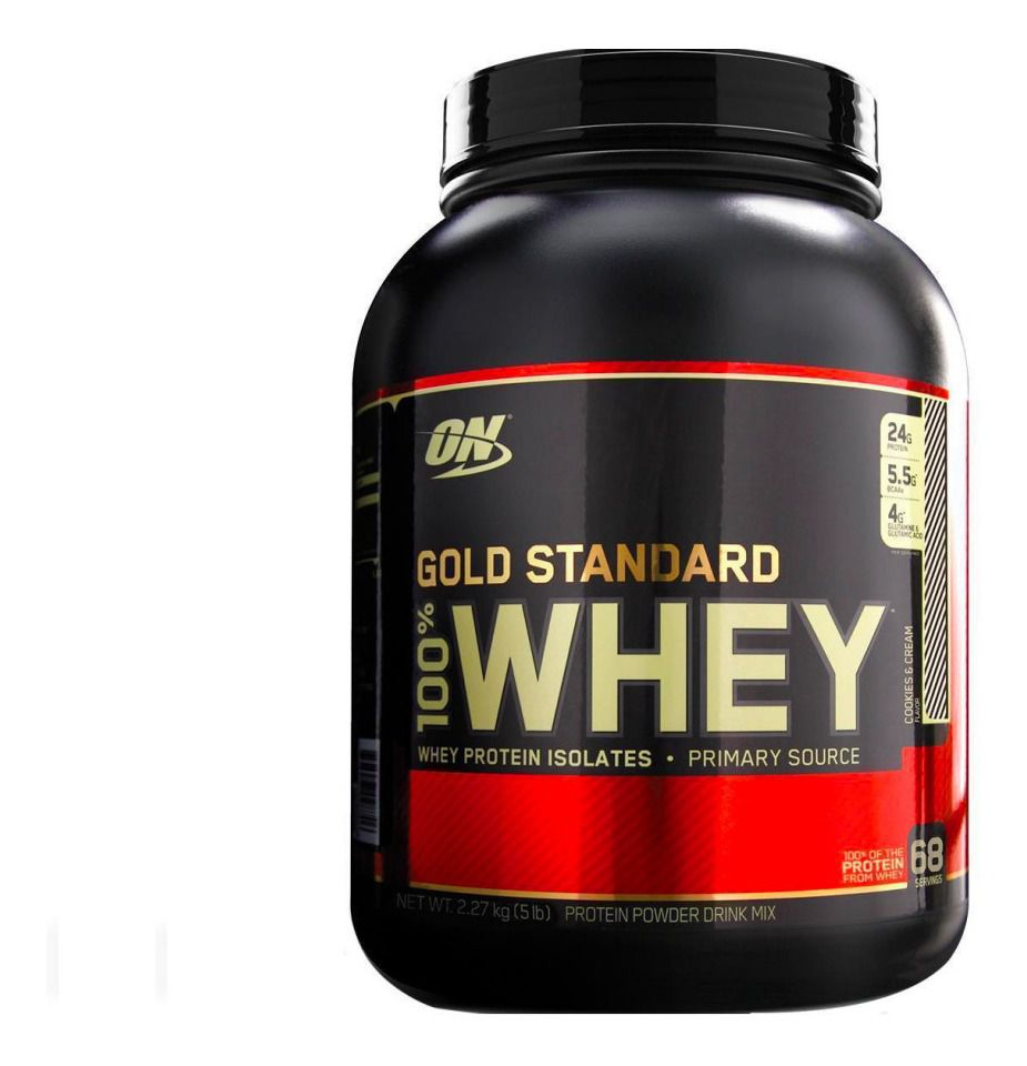 WHEY GOLD STANDARD 5LBS - OPTIMUM NUTRITION