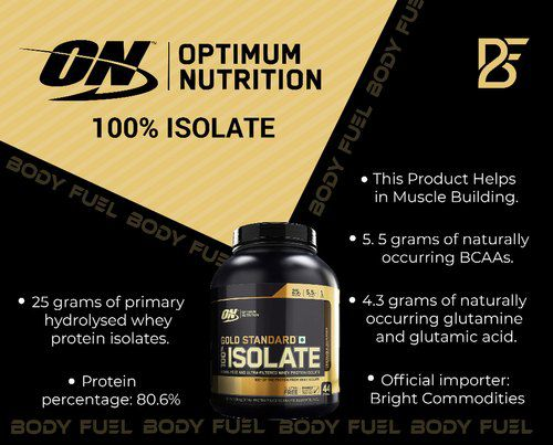 Whey Gold Standard  Isolate 1,58lbs – Optimum Nutrition