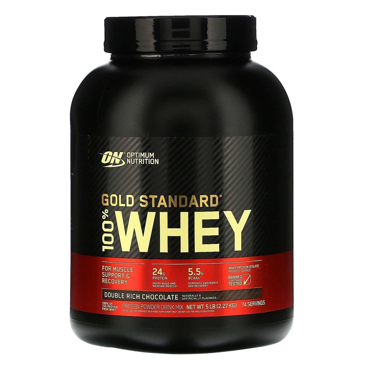 Whey protein gold standard 2,27kg Optimum nutrition