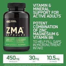Zma 90 capsulas -Optimum nutrition