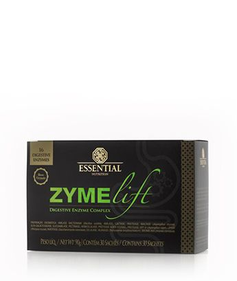Zymelift 30 Sachês de 3g Enzimas Digestivas  Essential Nutrition