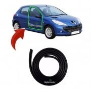 Borracha Da Porta Peugeot 206 207 4 Portas 1ª Linha