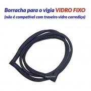 Borracha Do Vigia Traseiro S10 S-10 1995 Até 2011 Vidro Fixo