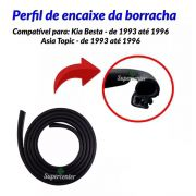 Borracha Porta Lateral Meio Correr Besta Topic 1993 Até 1997