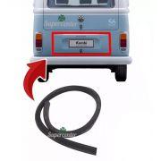Borracha Tampa Motor Traseira Kombi Carat 1997 Até 2013