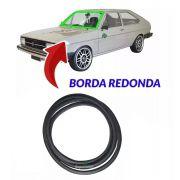 Borracha Vidro Parabrisa Passat 77 A 1988 Com Encaixe Friso