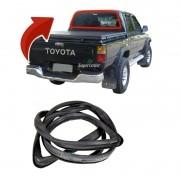 Borracha Vigia Vidro Traseiro Toyota Hilux 1997 A 2002