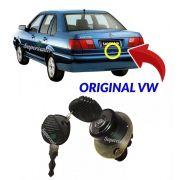 Cilindro Botão Chave Porta Mala Elétrico Santana 1991 A 2006
