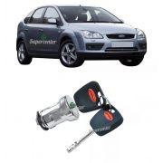 Cilindro De Ignição Com Chave Ford Focus 2000 Até 2008
