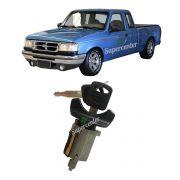 Cilindro Ignição Partida Chave Ford Ranger 1994 95 1996 1997