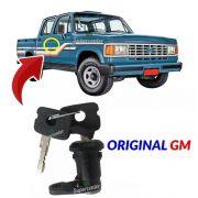 Cilindro Porta Chave Pick-up Gm A20 C20 D20 D40 Bonanza Preto