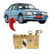 Fechadura Manual Porta Dianteira Escort Verona 1983 Até 1986