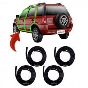 Kit Borracha Da Porta Ford Ecosport 2002 Até 2011 1ª Linha
