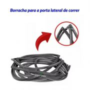 Kit Borracha Porta Diant Correr Tras Motor Kombi Carat 97/13