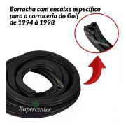 Kit Borracha Porta Dianteira Traseira Golf 1994 até 1998