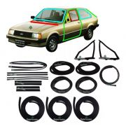 Kit Borracha Porta Parabrisa Canaleta Chevette Hatch 85 A 94
