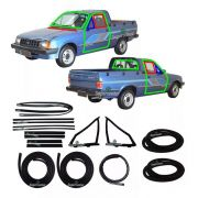 Kit Borracha Porta Parabrisa Capô Vento Chevy 500 85 A 95
