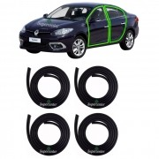 Kit Borracha Porta Renault Fluence