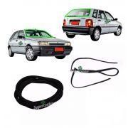 Kit Borracha Vidro Parabrisa Vigia Fiat Tipo 1993 Até 1997