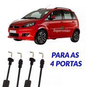 Kit Cabo Abertura Fechadura Porta Dianteir Traseir Fiat Idea