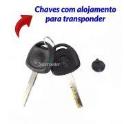 Kit Cilindro Ignição Com Chave Transponder Comutador Vectra