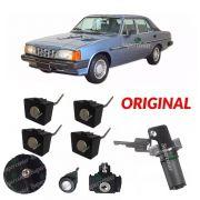 Kit Cilindro Porta Com Chave Tampa Combustível Opala 85 A 92