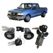 Kit Cilindro Porta E Ignição Partida Ford Ranger 1994 A 1997