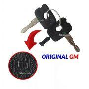 Kit Cilindro Porta Ignição Partida Chave A20 D20 D40 Cromado