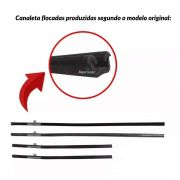 Kit Completo Borracha Porta Parabrisa Kombi Pick-up Cabrita