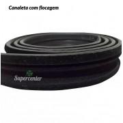 Kit Completo Canaleta Pestana Vidro Porta Ecosport 02 A 2012