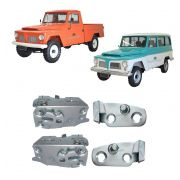 Kit Fechadura Batente Porta Ford Rural Willys F75 F-75