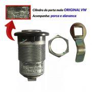 Kit Fechadura Cilindro Chave Alavanca Batente Porta Mala Gol G1 1980 até 1996