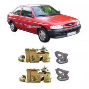 Kit Fechadura Elétrica Batente Porta Escort Logus 93/96 2pts
