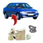Kit Fechadura Manual Batente Porta Diant Escort Zetec 97/02