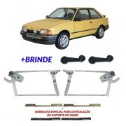 Kit Máquina Vidro Manual Escort 87 A 92 Hobby Verona Apollo