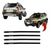 Kit Pestana Externa Vidro Porta Renault Duster 2010 Até 2013