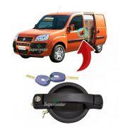 Maçaneta Externa Porta Dianteira Com Chave Fiat Doblo
